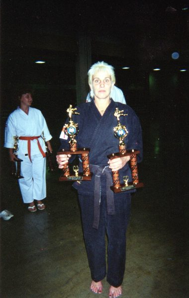 Karen Bronson, sensei